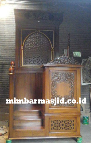 Furniture Mimbar Masjid